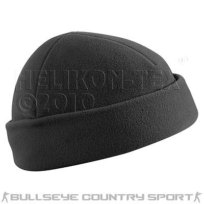 HELIKON WATCH CAP BLACK DOCKER