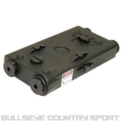 ICS MA-15 PEQ 2 BATTERY BOX BLACK 20MM RAIL