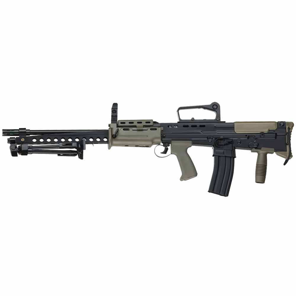 ICS Metal L86A2 LSW Airsoft Support Gun
