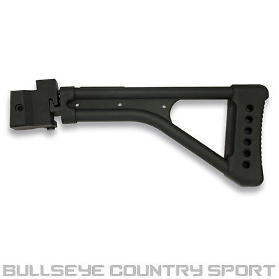 JG WORKS AIRSOFT AK SERIES FOLDING STOCK BLACK CQB STYLE