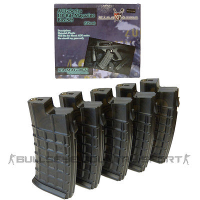 King Arms Aug Magazine Box Set 110rd Black