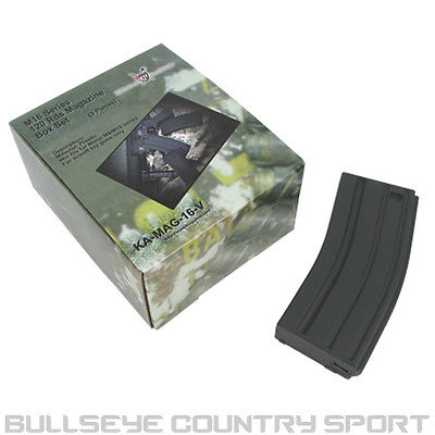 KING ARMS M4 MAGAZINE M16 BOX SET 5 BLACK