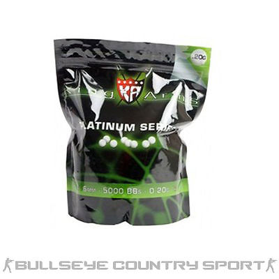 KING ARMS PLATINUM OLIVE BB'S 0.2G 1KG 5000 6MM