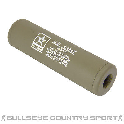 KING ARMS US ARMY DARK EARTH BARREL EXTENSION LIGHT WEIGHT TAN