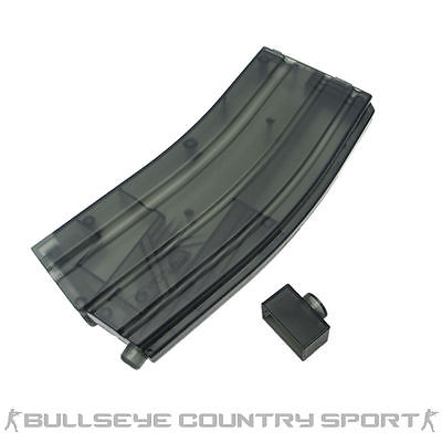 KING ARMS XL SPEED LOADER 470 RD CAPACITY BLACK M4 MAGAZINE TYPE