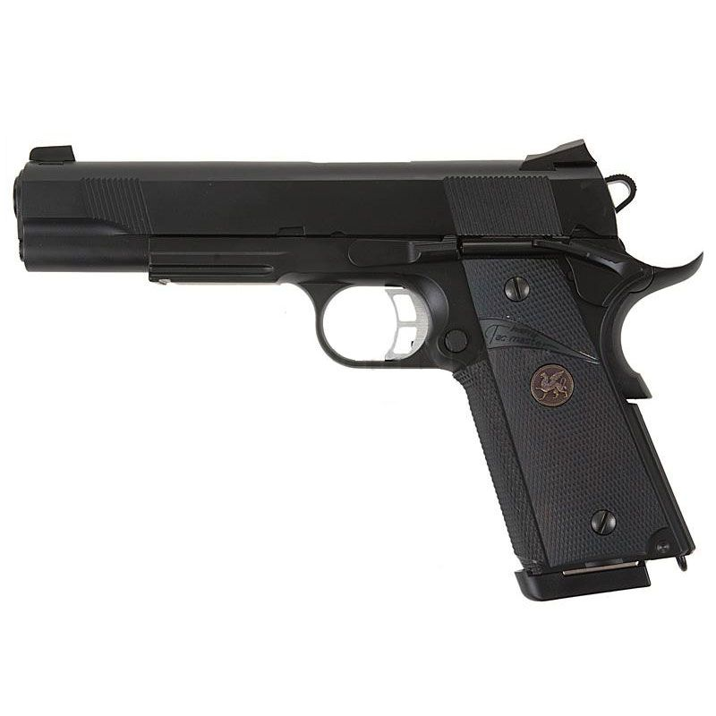KJ WORKS 1911 MEU AIRSOFT PISTOL KP-07 BLACK CO2 VERSION