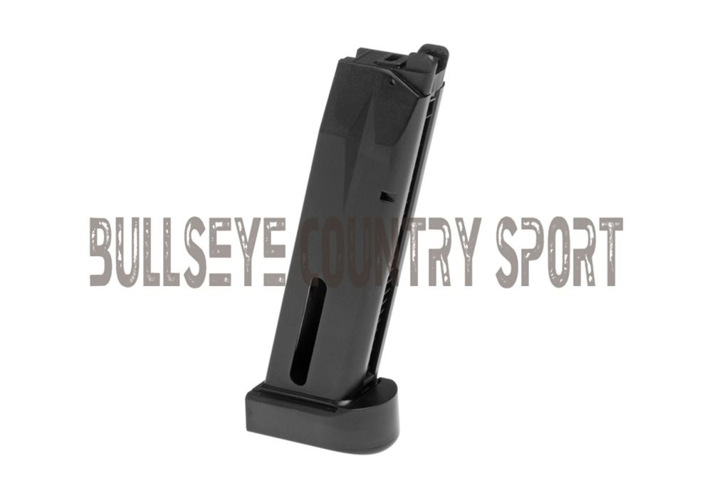 KJ Works Airsoft Magazine KP01-E2 P226 Co2 Version 25Rd Black Metal 6mm bb's