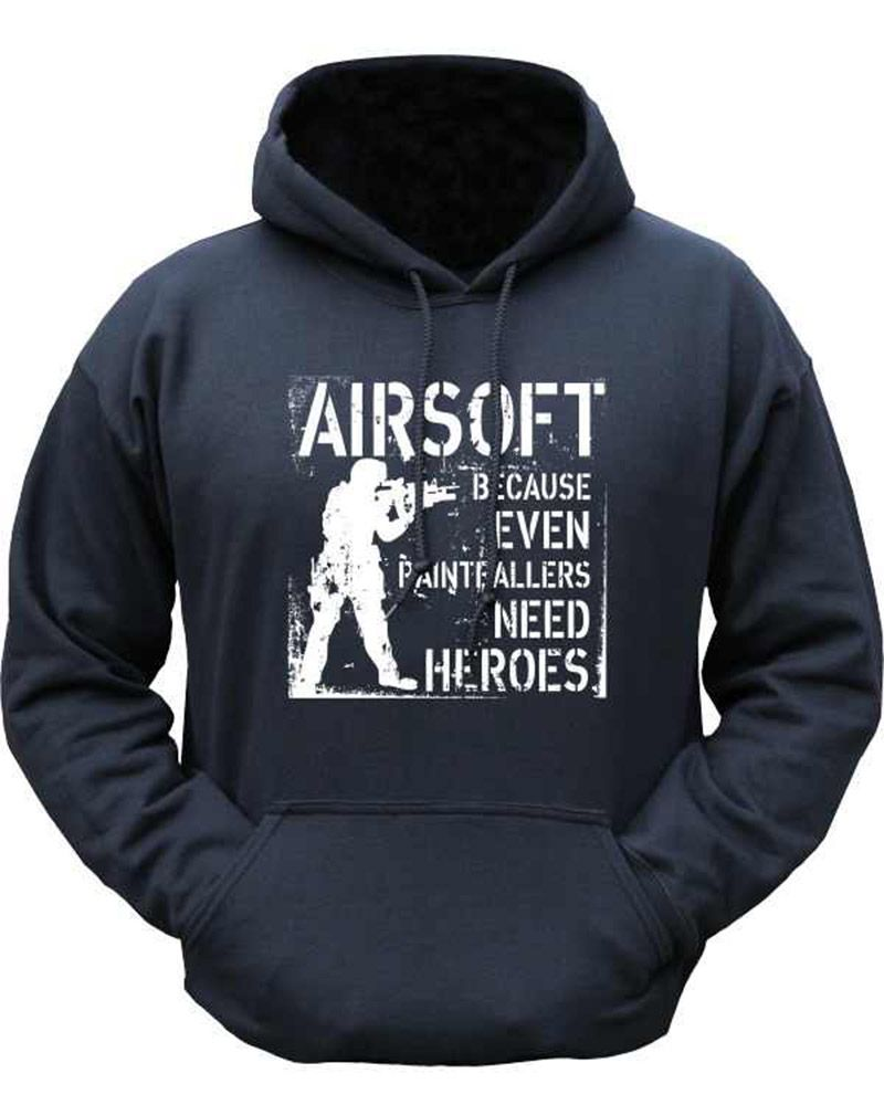 Kombat Hoodie Even Paintball Needs Heros