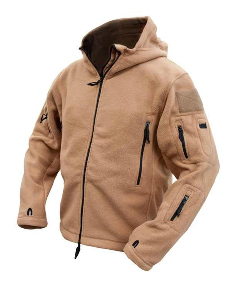 Kombat Tactical Recon Hoodie Fleece Coyote