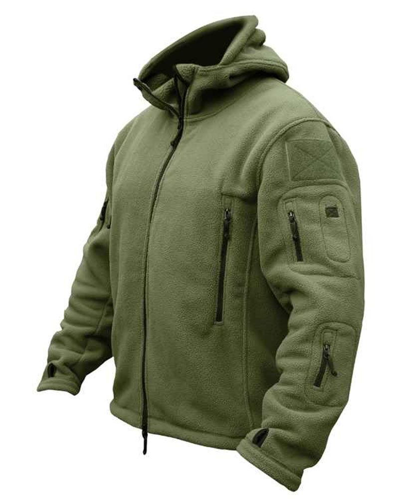 Kombat Tactical Recon Hoodie Fleece Green