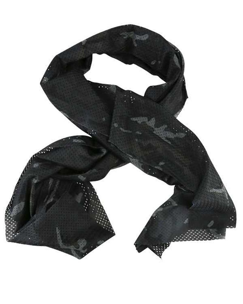 Kombat Tactical Scarf BTP Black Night Camo Scrim