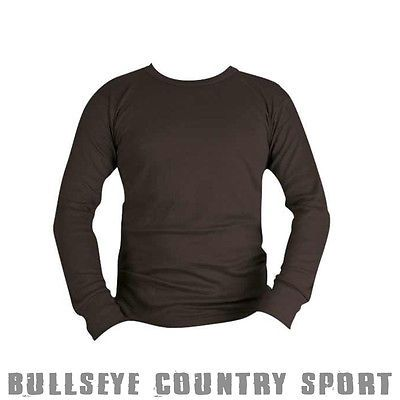 Kombat Thermal Long Sleeved Under Base Layer Shirt Camping Hunting