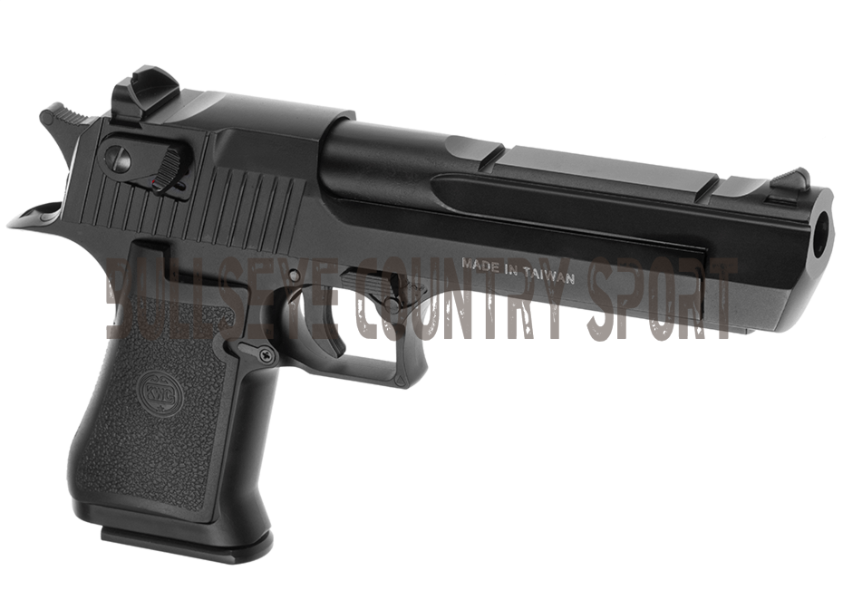 KWC Airsoft Desert Eagle Pistol DE.50 Black Co2 Metal Version