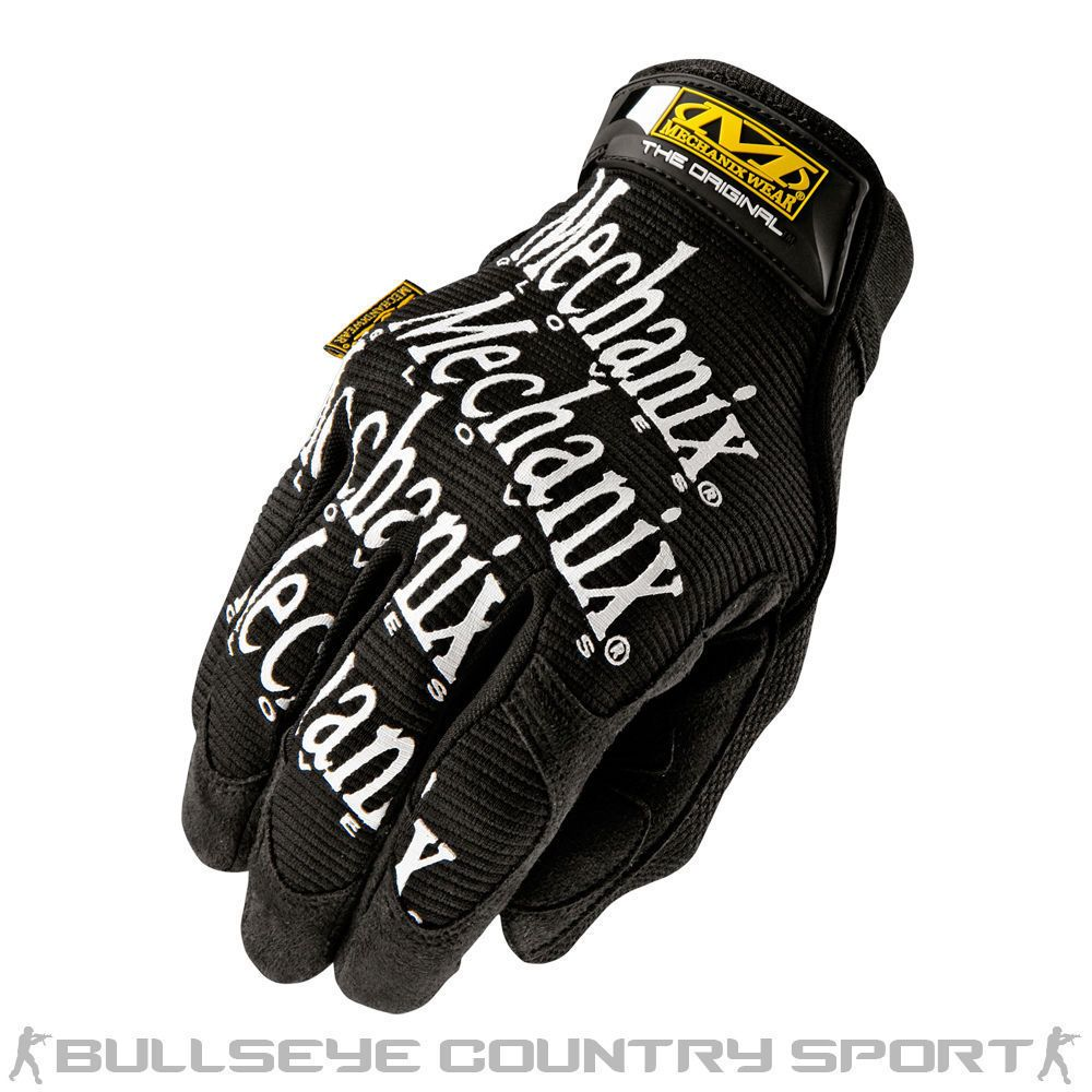 MECHANIX WEAR ORIGINAL GLOVES TACTICAL COMBAT GLOVE BLACK AIRSOFT CYCLING