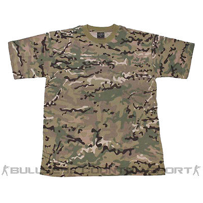MFH ARMY STYLE COMBAT T-SHIRT OPERATION CAMO