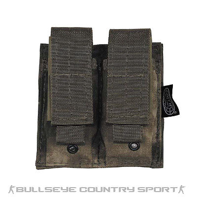 Mfh Double Pistol Magazine Pouch Hdt Foliage Green