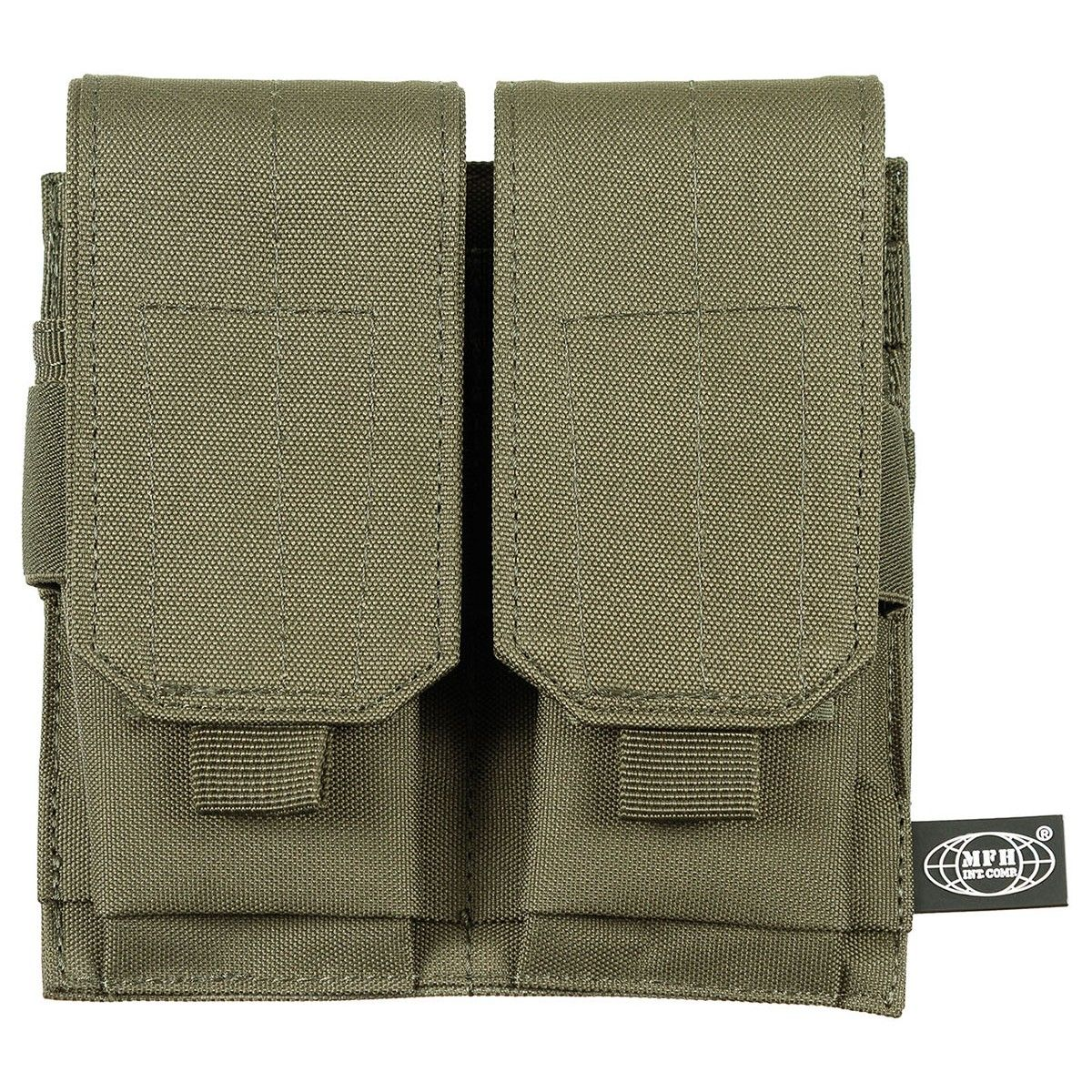 Mfh M4 M16 Double Magazine Pouch Green