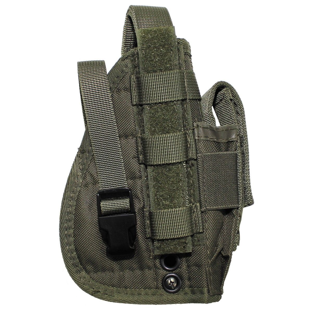 Mfh Tactical Molle Holster Green