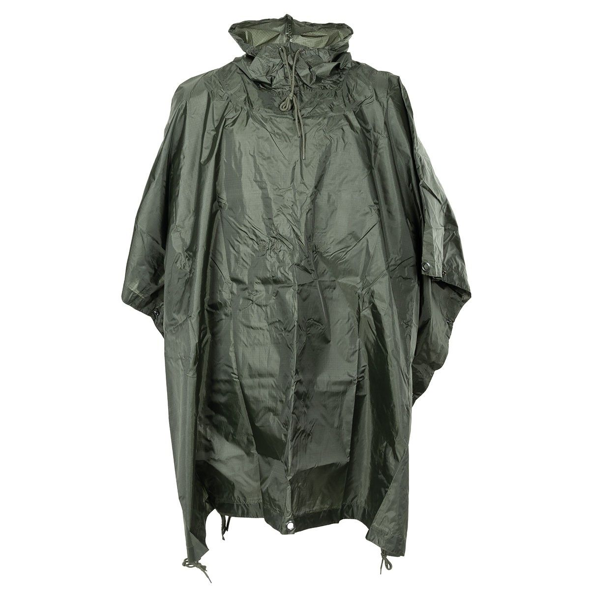 Mfh Us Army Military Style Poncho Green