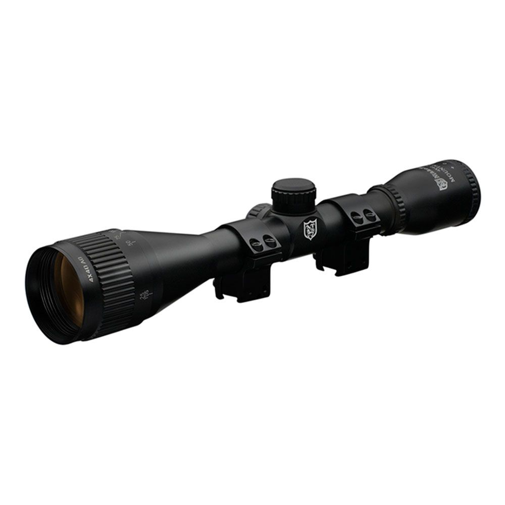 Nikko Stirling MountMaster Rifle Scope AO Half Mil Dot Reticle 4x40 #NMM440AO