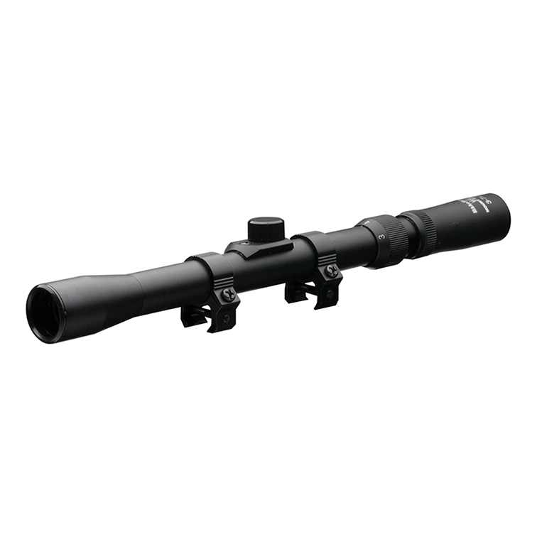 Nikko Stirling MountMaster Telescopic Rifle Scope 4 Plex Reticle 3-7x20 NMC3720