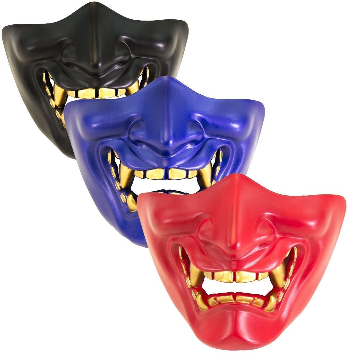 Nuprol airsoft DEVIL Lower Face Shield Mask Pistole 6 mm BB /'s 6033