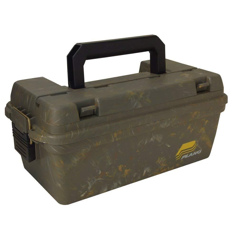 Plano Small Field Ammo Shell Utility Box with O-Ring Seal Camo Hunt Shoot #1412