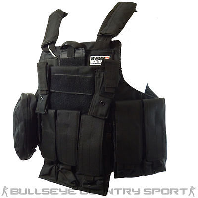 Swiss Arms CIRAS Tactical Vest Modular Black