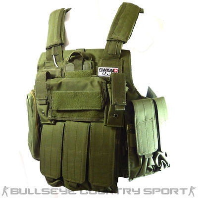Swiss Arms CIRAS Tactical Vest Modular Green