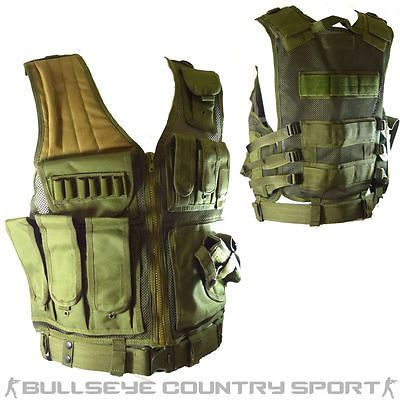 Swiss Arms Light Weight Quick Draw Vest Green