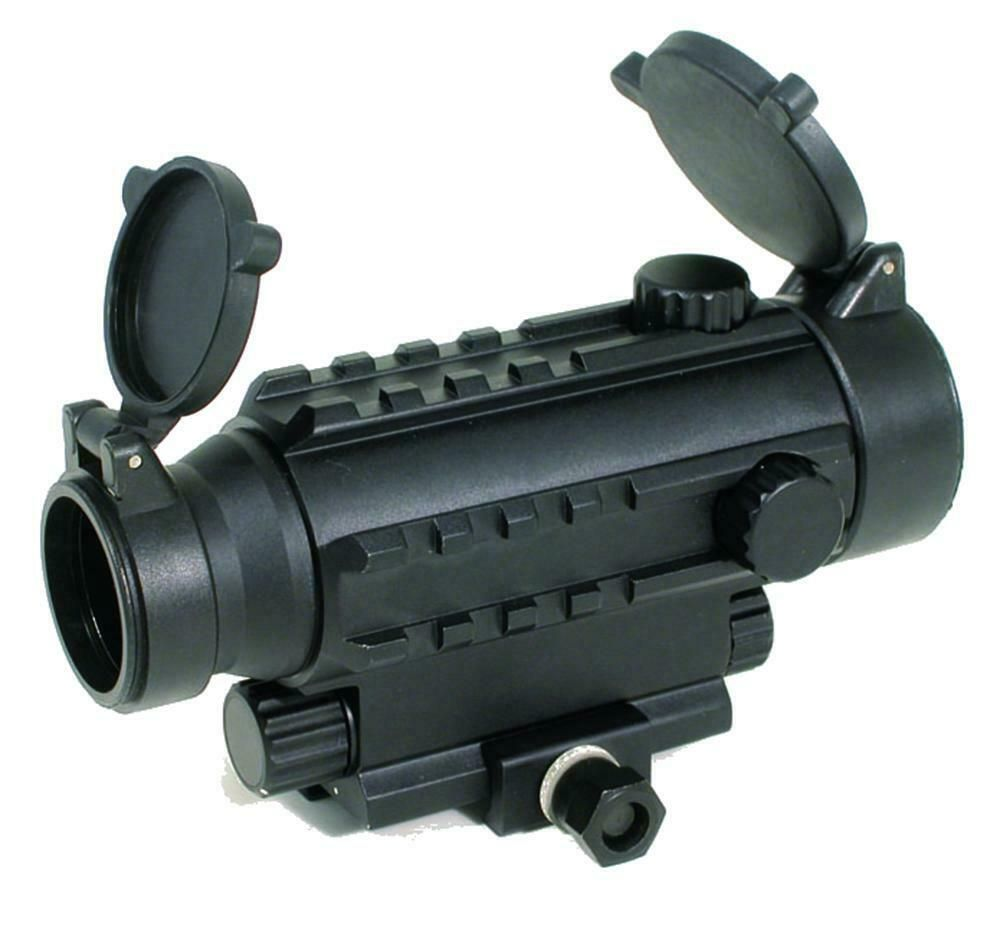 Swiss Arms Railed Red Dot Sight 7 Levels Scope Air Rifle Airsoft 263866 Hunting