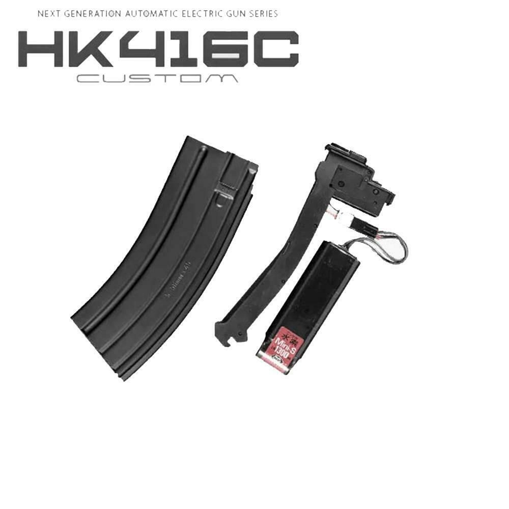Tokyo Marui Airsoft Magazine 30rd HK416C Holds Battery Type No.207 bb's 7070