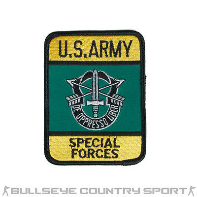 US ARMY SPECIAL FORCES PATCH MORAL PATCH