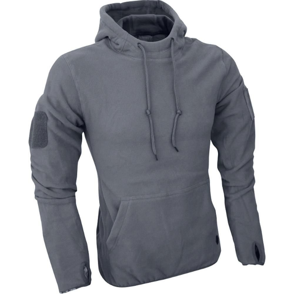 Viper Fleece Hoodie Titanium Lightweight Breathable
