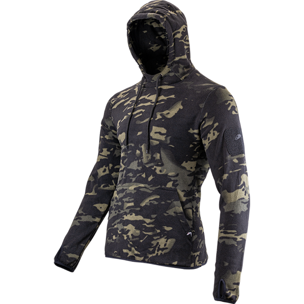 Viper Men's Fleece Hoodie Night Vcam Camo Hiking Airsoft Sports Style