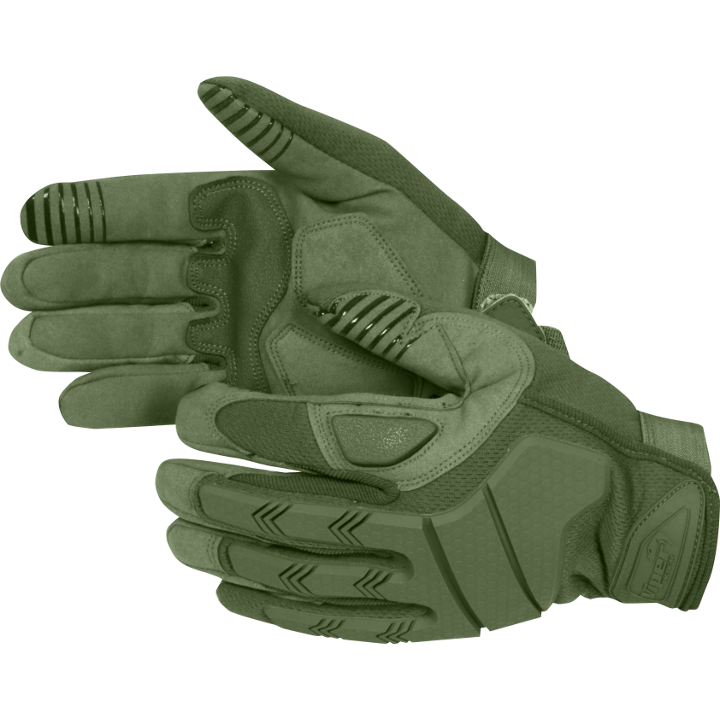 Viper Recon Gloves Reinforced Military Style Green