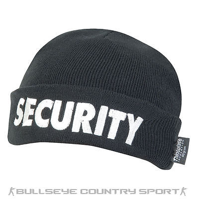 VIPER SECURITY BOB HAT THINSULATE LINED BLACK