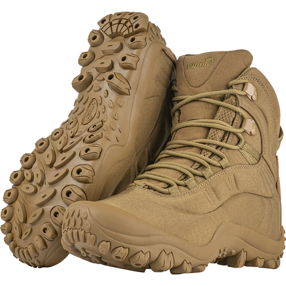 Viper Venom Men's Tactical Coyote Army Airsoft Hiking Combat Boots