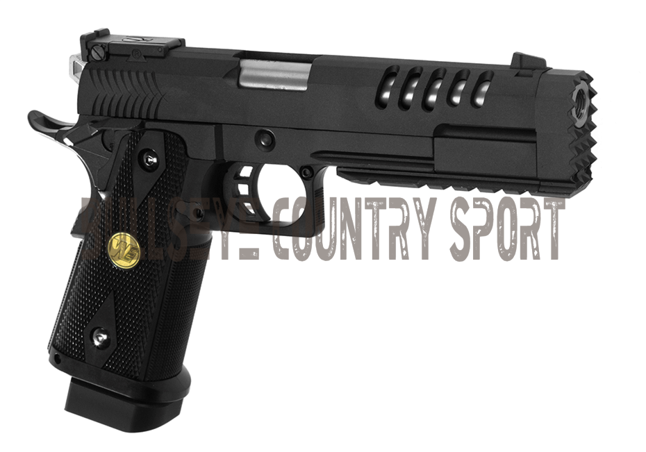 WE Airsoft Pistol Hi-Capa 5.2 K Green Gas