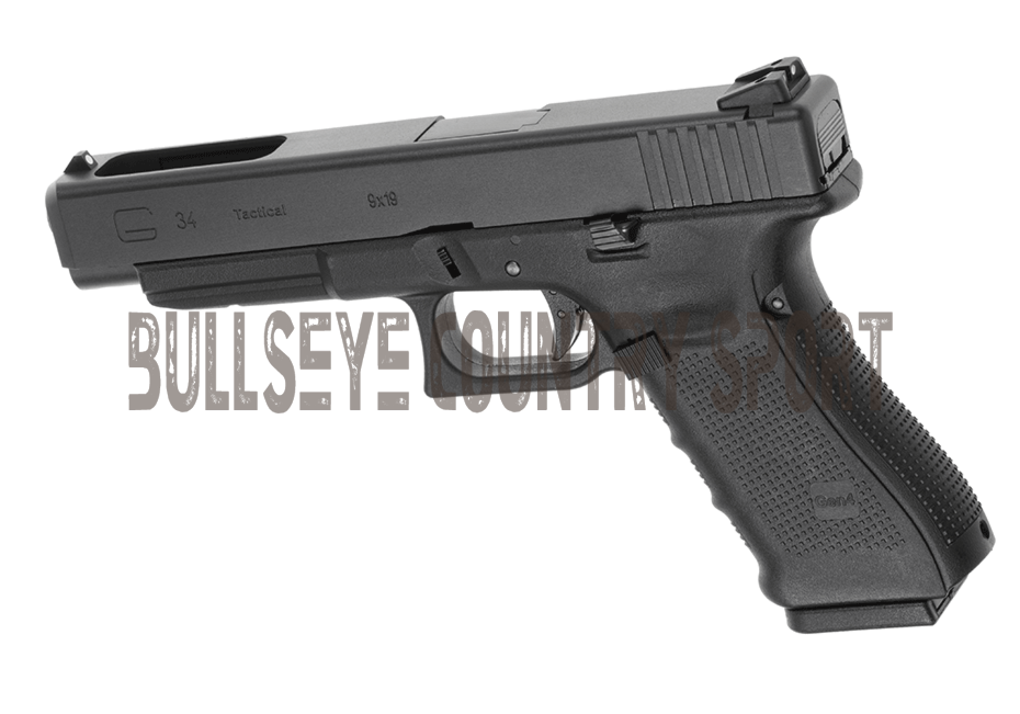 WE G34 Gas Blow Back Airsoft Pistol Black Gen 4