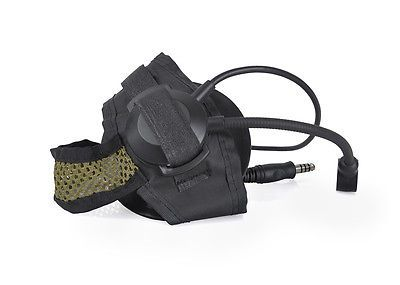 Z-Tactical Bowman Style EXS TACS1 Radio Headset 2 Way Z028